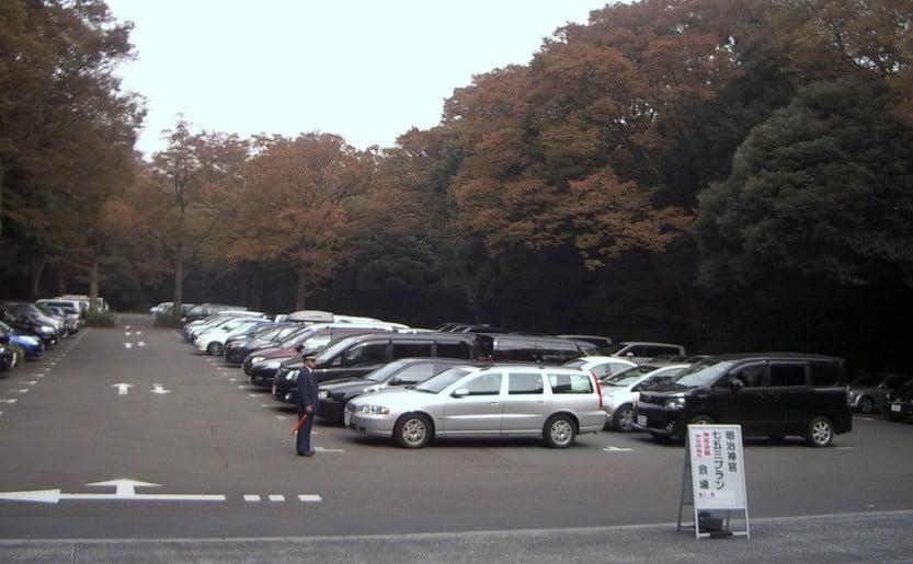 明治神宮前の周辺駐車場・混雑状況(年末年始・初詣・七五三・お盆・ゴールデンウィーク)