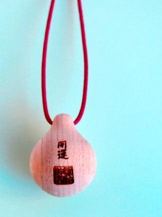 明治神宮のお守り・開運木鈴「こだま」の値段(価格)