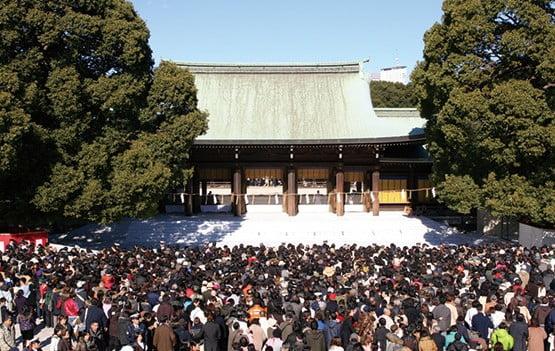 明治神宮の参拝者数は初詣(正月・三が日)だけで日本一