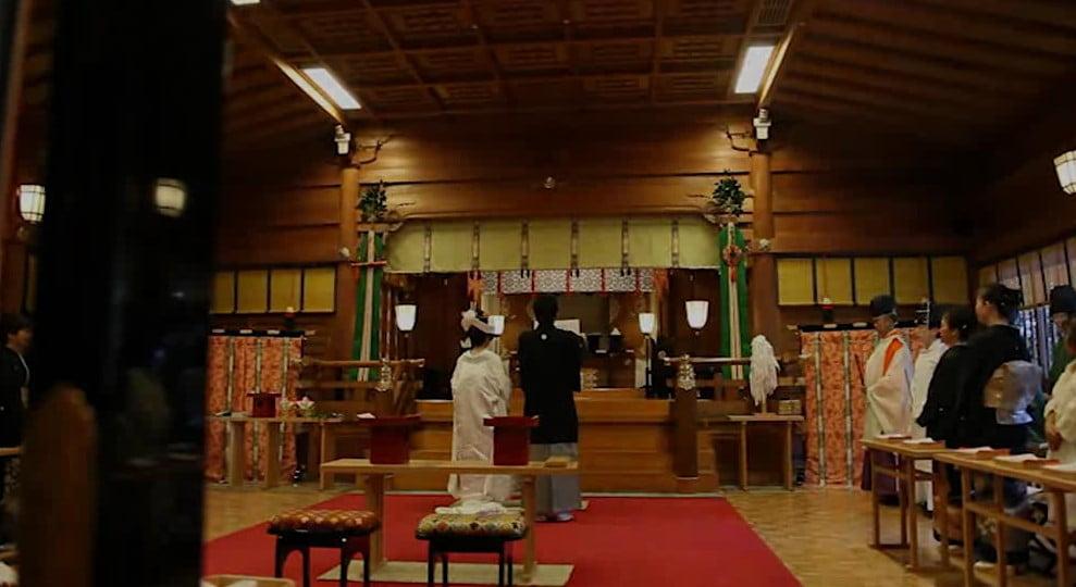 明治記念館 ・「儀式殿」