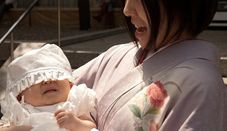 明治神宮の初宮参り(お宮参り)での赤ちゃんのミルクやオムツについて